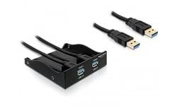 """Delock 2-port USB 3.0 Front Panel 5.25"""""""