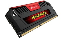 Corsair Vengeance Pro Red 32GB DDR3-1600 CL9 quad kit