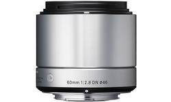 Sigma NEX 60mm f/2.8 DN Art Silver (Sony)