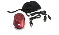 HP S4000 Red Portable Speaker