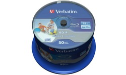 Verbatim BD-R Printable 6x 50pk Spindle