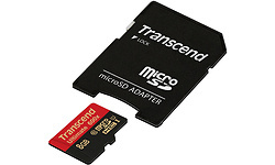 Transcend MicroSDHC UHS-I 8GB + Adapter