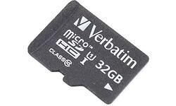 Verbatim MicroSDHC Class 10 32GB + Adapter
