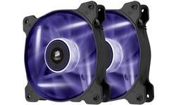 Corsair AF120 LED Purple Quiet Edition 2pk