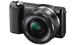 Sony Alpha A5000 16-50 kit Black