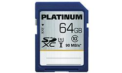 Platinum SDXC UHS-I 64GB
