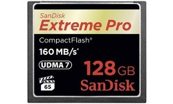 Sandisk Extreme Pro Compact Flash 128GB