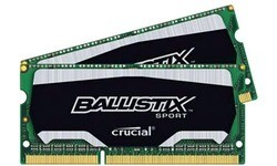 Crucial Ballistix Sport 8GB DDR3L-1600 CL9 Sodimm kit