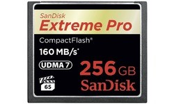 Sandisk Extreme Pro Compact Flash 256GB