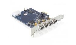 Delock 4-port FW400 PCIe Card