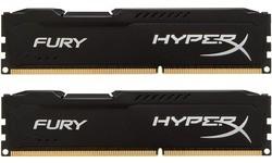 Kingston HyperX Fury Black 16GB DDR3-1600 CL10 kit