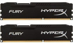 Kingston HyperX Fury Black 8GB DDR3-1600 CL10 kit