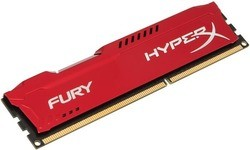 Kingston HyperX Fury Red 4GB DDR3-1600 CL10