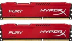 Kingston HyperX Fury Red 16GB DDR3-1866 CL10 kit