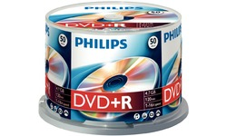 Philips DVD+R 16x 50pk Spindle