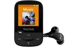 Sandisk Sansa Clip Zip Sports 8GB Black