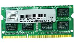 G.Skill SQ Series 8GB DDR3-1600 CL11 Sodimm