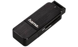 Hama SD/MicroSD USB 3.0 Cardreader Black