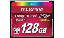 Transcend Compact Flash 800x 128GB