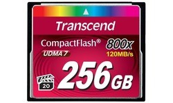 Transcend Compact Flash 800x 256GB