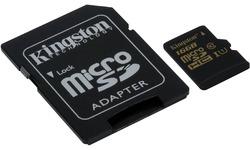 Kingston MicroSDHC UHS-I 16GB + Adapter