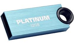 Platinum Slender 32GB Blue
