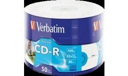 Verbatim CD-R 52x 700MB 50pk Spindle