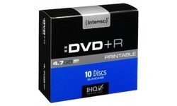 Intenso DVD+R 16x 10pk Slim Case