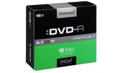 Intenso DVD-R 16x 10pk Slim Case