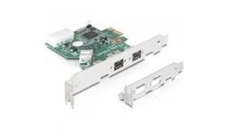 Delock 3-Port FW800 PCIe Card