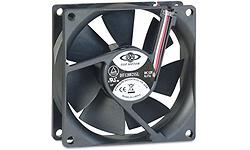 Inter-Tech 80mm Fan Black
