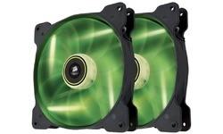 Corsair SP140 LED Dual Pack Green