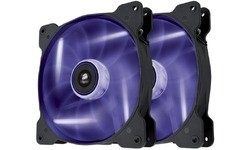 Corsair SP140 LED Dual Pack Purple