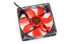Cooltek Silent Fan LED 120mm Red