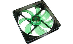 Cooltek Silent Fan LED 140mm Green