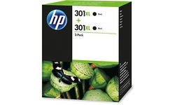 HP 301XL Black Twin Pack