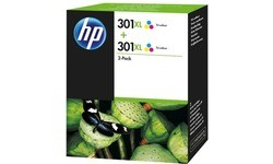HP 301XL Tri-Color Twin Pack