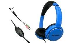 Sandberg Home'n Street Headset Blue