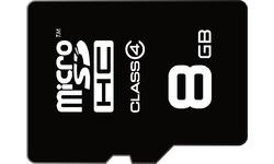 Emtec MicroSD Class 4 8GB + Adapter