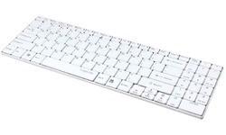 LogiLink Slim Bluetooth Keyboard White