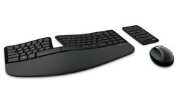 Microsoft Sculpt Ergonomic Desktop Black