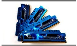 G.Skill RipjawsX 32GB DDR3-1600 CL9 quad kit