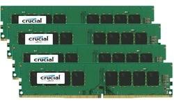 Crucial 32GB DDR4-2133 CL16 quad kit