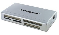 Integral USB 2.0 Multi Card Reader