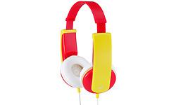 JVC HA-KD5-R-E Red/Yellow