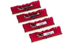 G.Skill Ripjaws IV Red 16GB DDR4-3000 CL15 quad kit