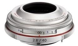 Pentax SMCP DA 40mm f/2.8 ED Silver