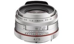 Pentax SMCP DA 15mm f/4 ED AL Silver