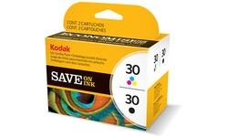 Kodak 30XL Cyan/Magenta/Yellowith Black
