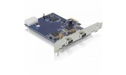 Delock 2-Port FireWire 400 PCI-e Card